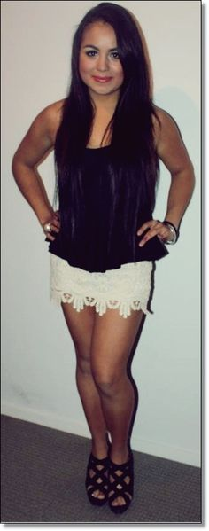 black & white hottie! <3