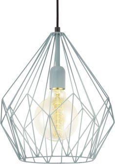 bol.com | EGLO Vintage - Hanglamp - 1 Lichts - Mint | Wonen