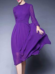 https://www.stylewe.com/product/paneled-chiffon-midi-dress-5454.html