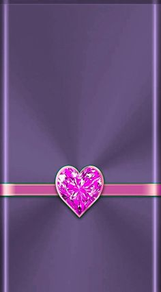 Heart Iphone Wallpaper, Bling Wallpaper, Purple Wallpaper, Cool Wallpaper, Phone Wallpapers, Diamond Heart, Heart Ring, Heart Background, Glitter Hearts