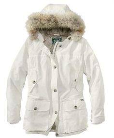 Woolrich Model #15130 Women's Arctic Parka Ecru Winter Coat: Shell: 60% cotton/40% nylon… #TrapperSupplies #TrapperBooks #TrapperVideos