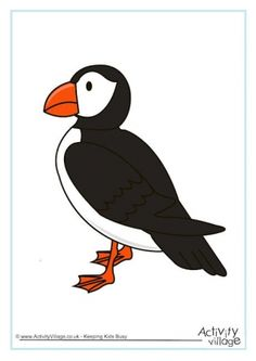 Learn about the puffin and enjoy our fun printable activities for kids! Science Week, Printable Activities For Kids, British Wildlife, Compassion, Projects, Fun, Poster, Puzzle, Log Projects