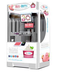 The evolution is here. Frozen yogurt being