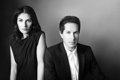 Camilla Freeman-Topper and Marc Freemand