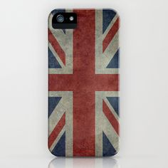Union Jack (1:2 Version) iPhone & iPod Case by Bruce Stanfield - $35.00