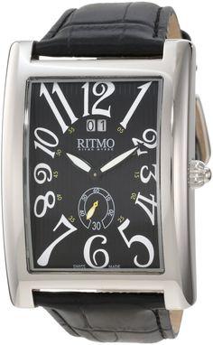 Ritmo Mundo Unisex 621/1 Black Classic Quartz Watch