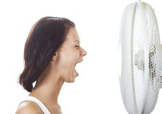 cooling of the face can trigger a reflex that stops the sweating