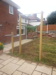 Chin Up Station | DIY Outdoor Chin Up & Dip Bar Wirral
