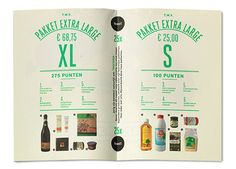 Studio Beige put together a super-cool identity for a supermarket - It's Nice That