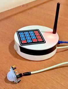 Arduino GSM Shield Home Alarm