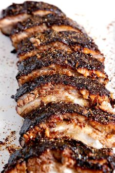 Memphis Style Barbecue Ribs