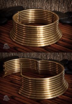 Brass Karen Coil necklace The customer photo of this neck wear is stellar.! check it out, just click on the image