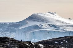 On a trip to Ilulissat Ice fjord you can experience the biggest glacier outside of Antarctica, as well as a giant ice fjord and enormous mountains of ice