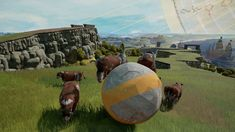 #RockOfAges2: Bigger & Boulder [Dev Blog #4] - Unit review: Cows   Hello community! In this second developer post where we look at the changes made to defensive units we'll be evaluating the cow to see how it has transitioned to the new game. Click here t