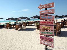 Disfruta al máximo las playas del Caribe Mexicano.