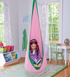 """A """"HugglePod"""" - somehow I think my kids would turn these into WOMD and there there would be holes in our ceilings."""