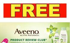 FREE AVEENO Positively Radiant Body Care from Chickadvisor -Apply Now! (New)