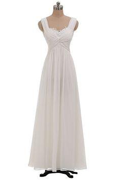 Sunvary Ivory Chiffon Beach Wedding Guest Dresses Bridesmaid Dresses Long US Size 12- Ivory null http://www.amazon.com/dp/B00M0EK31A/ref=cm_sw_r_pi_dp_maH4tb19GAQMH