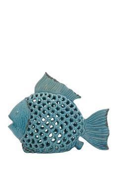 Ceramic Fish Decor by UMA Enterprises Inc. on @HauteLook