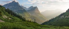 Glacier National Park Montana USA. [OC] [5760 x 2469]