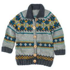 Patons True North Knit Jacket, XS/S Pattern | Yarnspirations