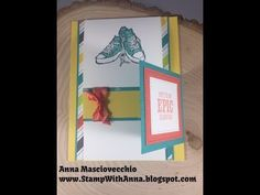 Stamp with Anna, Stampin Up, Flip and Flap, Two Fold, Fun Fold, Epic  Celebration