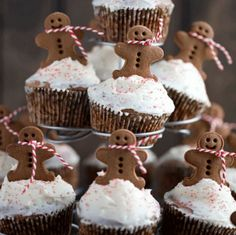 15 Fun Christmas Cupcakes For Kids - You Baby Me Mummy