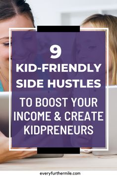 Side hustles are a great idea to boost your income, but as a mom it can be hard to take more time from your children. Learn how you can make some extra money while encouraging your own kidpreneur with these great kidpreneur ideas and activities. Make More Money, Extra Money, Teaching Overseas, Get More Followers, Instagram Influencer, Pinterest For Business, Creating A Blog, Work Travel, Blogging For Beginners