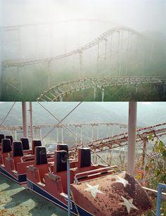 abandoned theme park