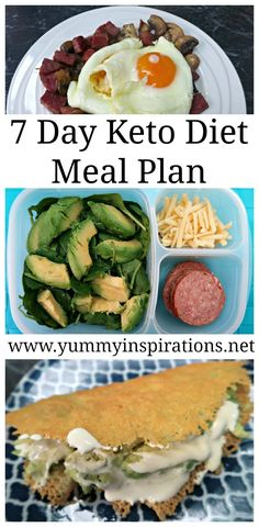 7 Day Keto Diet Meal