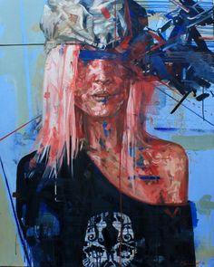"Saatchi Art Artist Pavle Maksimovic; Painting, ""Portrait XXI"" #art"