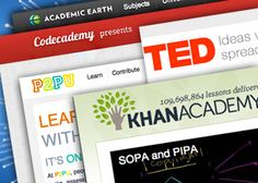 Excellent list of resources for learning on the web from K-12 to graduate/adult level. Familiar with iTunes U? TED? Khan Academy? Ten are reviewed here...