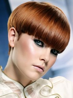 Fire Red Hair Color