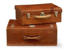 Hermès luggage designed for Out of Africa author Karen Bixen in the 1930's.