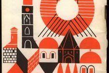 mid century graphic design - Buscar con Google