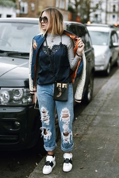 Nina Suess: St Quentin Ave, London Autumn Inspiration, Winter Outfits, Overalls, Winter Fashion, Saints, Street Style, London, Denim, My Style
