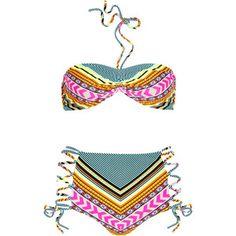 Mara Hoffman high wasted bikini! cuz you know my body aint the same since I had kids ;)