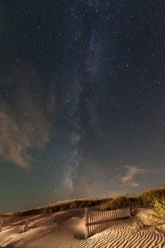 The Stars Over Corolla, North Carolina, US