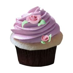 priss_Birthday_cupcake_purple.png ❤ liked on Polyvore featuring food, food and drink, cake, cupcakes, food & drinks and filler