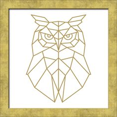 Produktinformationen OWL · Glas, Papier, Holzwerkstoff · mehrfarbig · Made in Germany Owl Graphic, Tattoo Graphic, Easy Mosaic, Diy Artwork, Chicano Art, Geometric Lines, Pen Art, Framed Art, Print Poster