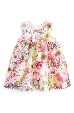Luli & Me Floral Print Sleeveless Dress (Baby Girls) available at #Nordstrom