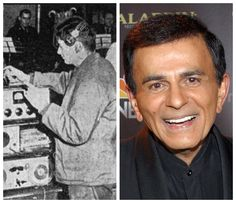 Casey Kasem-Army-Korea-1952-worked as a DJ/announcer on the Armed Forces Radio Korea Network.  (DJ, radio personality, voice actor)