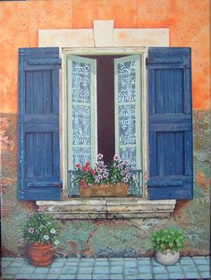 window with blue shutters You are in the right place about craftsman trim window curtains Here we of Exterior House Siding, Exterior Paint Colors For House, Paint Colors For Home, Exterior Shutters, Cottage Shutters, House Shutters, Craftsman Trim, Craftsman Exterior, Craftsman Style