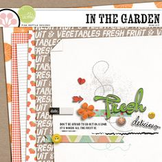 Quality DigiScrap Freebies: In The Garden mini kit freebie from Pink Reptile Designs