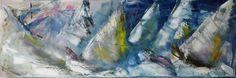 Autore. Nicola soriani  Titolo.  La regata Anno.  2015 Tecnica. Olio su tela  Dimensioni. 40 x 60 cm