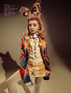 """""""Little Miss America"""" Maddie Ziegler for Schon Magazine S/S 2015"""