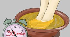 Esto es lo que pasa cuando sumerges tus pies en vinagre durante 30 minutos