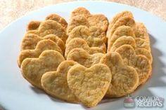 Receita de Biscoitinho de queijo e cenoura em receitas de biscoitos e bolachas, veja essa e outras receitas aqui!