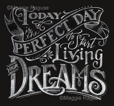 The Mag Rag: I love Hand Lettering!                                                                                                                                                     More