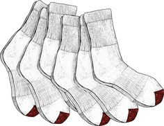 Men's 6-pack Everyday Midweight Crew Socks,  only from Duluth Trading Company!